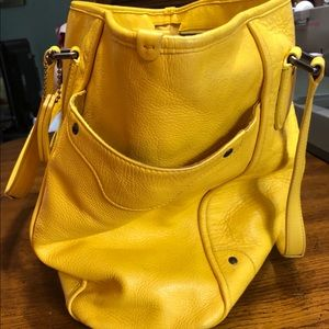 Coach Bags - Coach Yellow Handbag